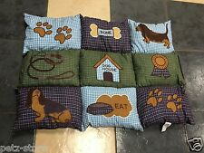 Trixie Patchwork Blanket bed 80 x 53cm Dog Puppy on clearance sale price
