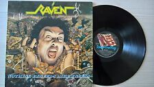 DISCO LP VINILE RAVEN - NOTHING EXCEEDS LIKE EXCESS - FLAG 28 1988 - EX-/EX-