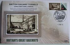 2011 Limited Edition Benham  Railway Train Tunnel Cover - Liverpool