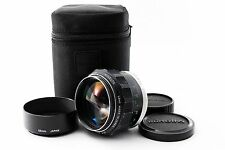 F/S Excellent+ Minolta MC ROKKOR-PG 58mm F1.2 Lens w/Hood+Case From Japan