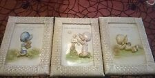 SET OF 3 ADORABLE BABY/GIRL ROOM WALL DECOR  NWOT BABY GIFT/SHOWER FREE SHIPPING