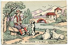 POSTCARD / CARTE POSTALE / ILLUSTRATEUR / EN SAVOIE LE BERGER
