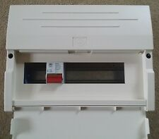MK Sentry 12 Way Consumer Unit - Comes With 5500s DP Isolator & Busbar