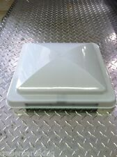 """14"""" x 14"""" White Replacement Vent Lid for Enclosed Trailers RVs Campers"""