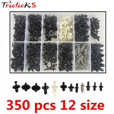 350Pcs High Quality Car Body Push Pin Rivet Fasteners Trim Moulding Clip Kit Set