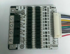 Battery Protection BMS PCB Board for 12 Packs 36V LiFePO4 Cell max 15A w/Balance