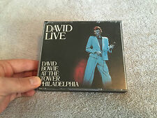 LIVE AT THE TOWER PHILADELPHIA 2 CD SET DAVID BOWIE RYKODISC RYKO