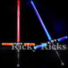 Lightsaber Light-Up Sword Ultimate Flashing Star Sound Fx Stick LED Wars Wand