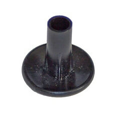 10 x  Single Grommets Black TV Cable Wall Bushes Entry Exit Inside Outside