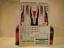 DECALS 1/43 AUDI R10 TDI  LE MANS 2008  - COLORADO  43164