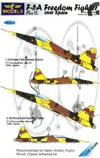 LF Models Decals 1/48 F-5A FREEDOM FIGHTER OVER SPAIN Part 2