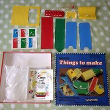 Vintage 1983 Spears Games THINGS TO MAKE Rare Retro SEWING Kit Ready To Sew Kids