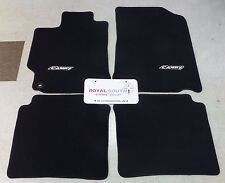 Toyota Camry 2015 - 2017 Black Carpet Floor Mats Genuine OEM OE