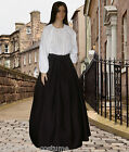 Ladies Victorian American Civil War Pioneer 2pc costume fancy dress sizes 6-20