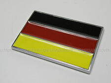 BMW 1 3 5 6 7 8 SERIES M3 M5 E36 E46 GERMAN GERMANY CAR BIKE FLAG CHROME BADGE