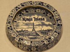 Fine Staffordshire Ware Enco National Kings Island Dish/Ashtray Coney - New York