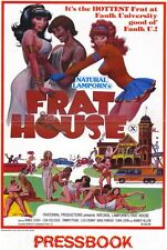 NATIONAL LAMPORN'S FRAT HOUSE Movie POSTER 27x40 Aimee Leigh Lisa De Leeuw Tawny