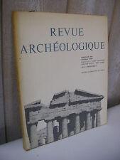 REVUE ARCHEOLOGIQUE 1973 n°1 Dokimasia Pont-Euxin Labyades à Delphes .....