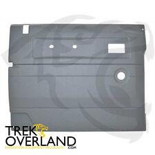 Land rover defender 87-06 fr lhs porte intérieure gris clair trim panel DA2491
