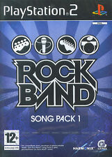 Rock Band : Song Pack 1  (PS2)