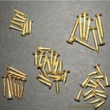 NEW 54 ELECTRIC GUITAR SCREWS ASSORTED GOLD LP ST TL