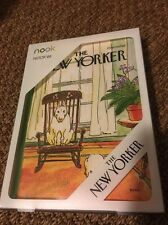 "NOOK HD  Readers Protective Cover Fits Nook HD 7"" New in Box The New Yorker"