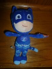 "Disney Jr PJ Masks Catboy Plush Stuffed Doll Blue 8 Inches 8"" Cat Boy Mask mini"