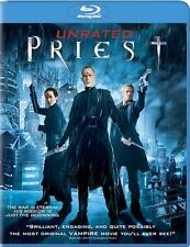 PRIEST New Sealed Blu-ray 2011 Unrated
