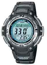 Casio Men's SGW-100-1VEF Digital TWIN SENSOR COMPASS 200m Acqua resistere WATCH NUOVO
