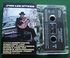 John Lee Hooker Mr Lucky ft Carlos Santana + Cassette Tape - TESTED