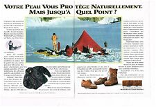 Publicité Advertising 1993 (2 pages) Pret à porter vetement Chaussures Timerland