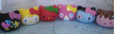 Hello Kitty vinly collectible Urban Figure head set (6 pcs)