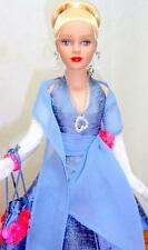 """Tonner 2003 MDCC Blonde Tiny Kitty 10"""" Doll Blue Dress Gloves Jewelry w/Stand"""