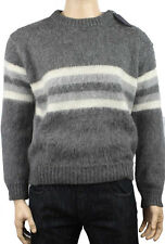 NEWT100%AUTH BEAUTIFUL DESIGN PRADA ALPACA WOOL SWEATER  IT 52 L