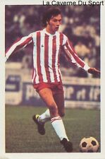 N°009 SERGE DUBREUCQ # AC.AJACCIO STICKER AGEDUCATIF FOOTBALL MATCH 1973