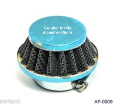 NEW Chinese Atv 2 Inc Air Filter 50-110 125 HP Scooter Filter 35mm carb side
