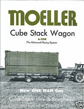 Farm Equipment Brochure - Moeller - Hay Cube Stack Wagon System (F4140)