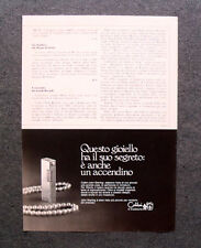 [GCG] M738 - Advertising Pubblicità - 1972 - COLIBRI' JOHN STERLING