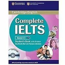 Complete: Complete IELTS Bands 4-5 by Guy Brook-Hart (2012, CD-ROM /...