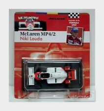 Mclaren F1 Mp4/2 Tag #8 Niki Lauda 1984 World Champion White Edicola 1:43 GL08
