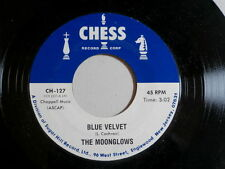 MOONGLOWS~BLUE VELVET~CHESS~TWELVE MONTHS OF THE YEAR~~ DOO WOP 45