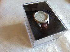 """Cabochon 35mm High Polished """"Mother of Pearl"""" Stainless Steel Quartz Watch L@@K!"""