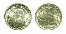 pcc1589_34) Repubblica di San Marino Vecchia Monetazione (1864-1938) 5 lire 1938