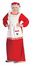 Christmas Mrs. Santa Claus Holiday Adult Womens Dress Costume Plus Size