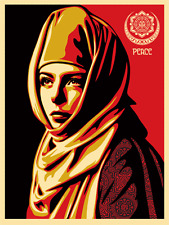 Universal Personhood - Shepard Fairey Obey Signed Art Print Poster Sold Out 2013