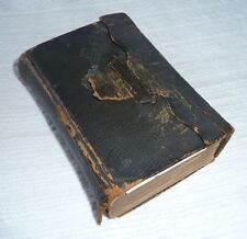 Small Leather Bible/American Bible Society/New York 1865, Old & New Testaments