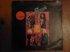 POISON - talk dirty to me / look what the cat dragged in  SINGLE 7""