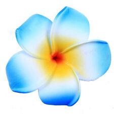 6 Color Hawaiian Plumeria Flower Foam Hair Clip Hair Pins Hair Accessory 3PCS