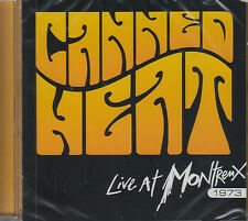 CANNED HEAT live at montreux 1973 CD NEU OVP