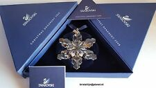 Swarovski Crystal, 2009 Clear Christmas Star Ornament. Art No 1026761